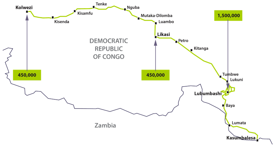 Phase 1b Map.